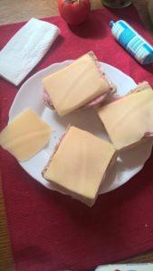 melegszendvics szendvicssütőben