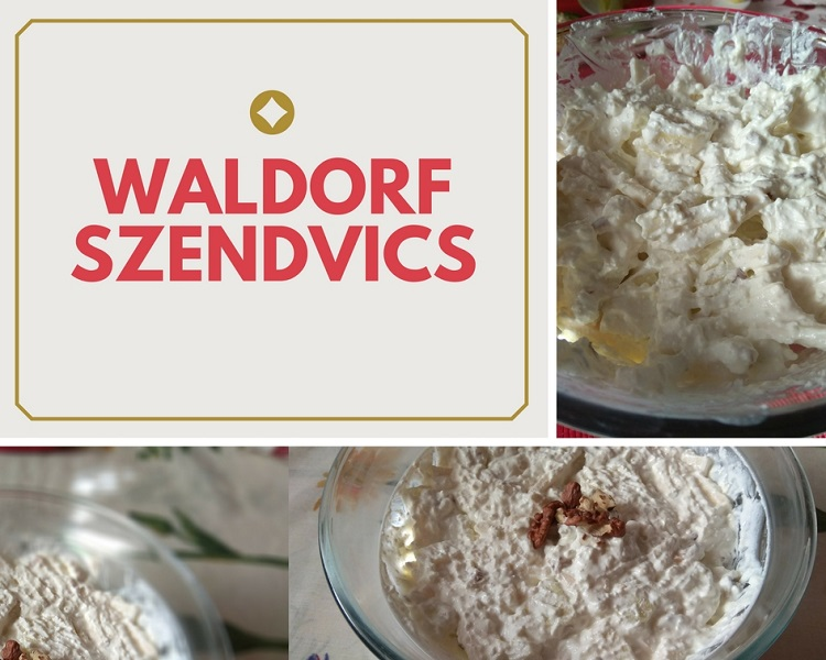 Waldorf szendvics recept