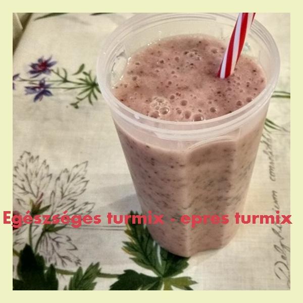 Egészséges turmix – epres turmix